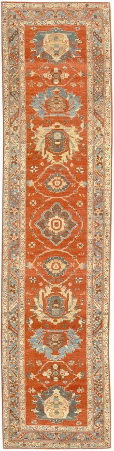 Bakshaish rug 34536  Width35 inches Length138 inches