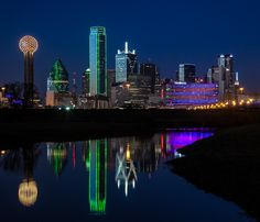 Dallas, Texas By Night...So Much World To See!....Travel The World & SAVE Money-Earn Income Online-Create The Lifestyle You Deserve! Visit www.eliteholidayincome.com to see how!