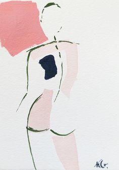 Mini Nude XLVII by artist Kristen Giorgi, Atlanta GA
