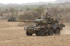 ERC90 SAGAIE en Afrique, 2013. © armée de Terre