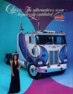 Peterbilt Ad Back Cover for Jan,Feb,March,Oct,Dec