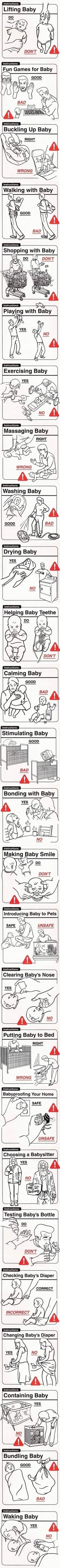 Baby dos and don'ts