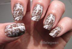 Nail Art by Belegwen: Suklaakynnet..