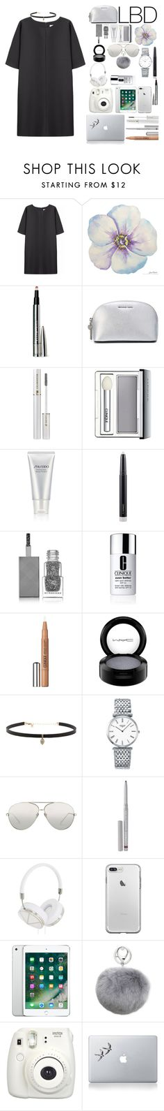 """""""Simple LBD #3"""" by enu-india on Polyvore featuring Non, Ellis Faas, MICHAEL Michael Kors, Lancôme, Clinique, Shiseido, MAC Cosmetics, Burberry, Carbon & Hyde and Longines"""