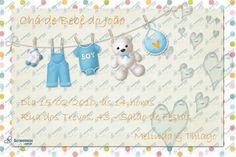Convite Digital - Chá de Bebê #2 | Festas Personalizadas | Lembrancinhas | Scrap Festa | Scrappiness Designs