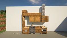 A Simple Kitchen Interior Design for Your House - Minecraft Mobs Minecraft, Minecraft World, Plans Minecraft, Minecraft Shops, Easy Minecraft Houses, Minecraft Houses Blueprints, Minecraft Room, Minecraft House Designs, Minecraft Decorations