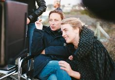 Céline Sciamma and Adèle Haenel on the set of 'Portrait of a Lady on Fire' The film-maker talks to Alexandra Pollard about growing up gay at a time before the internet, male privilege in cinema, and why Wonder Woman changed her life Adele, Celine Sciamma, Luis Bunuel, German People, Jean Luc Godard, Movie Couples, The Best Films, Film Serie, New Movies
