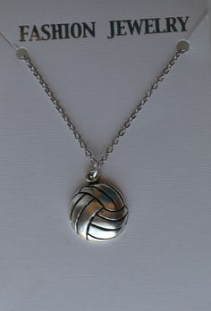 Brass Chain Necklace with Tibetan Silver Volleyball Charm - Many Styles - You Choose Pendant - Players, Teams, Coaches - Bulk Discounts Volleyball Jerseys, Volleyball Quotes, Volleyball Necklace, Backpack Decoration, Daughter Of God, Kim Min, Wine Charms, Necklace Sizes, Brass Chain