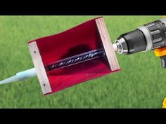 Wow!!! AMAZING IDEA for a drill. Homemade inventions. - YouTube