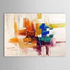pintura al óleo del arte abstracto de la lona con lienzo pintado a mano marco de estirado - USD $ 53.99