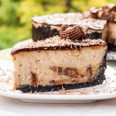 Reeses Peanut Butter Cheesecake...but take 4.5 hrs to bake!!! Haven't tried so much nt kno if worth it but looks amazeballs