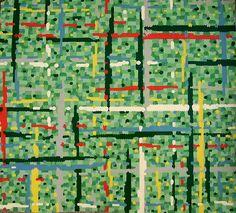 Vibrant 1950s Linoleum
