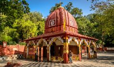 Renuka Temple,Nahan in the state of Himachal Pradesh. This temple is dedicated to Goddess Renuka. mother of sage Parshurama. It is believed that she was killed by her own son to obey his father's order, Jamadagni, was built in one night by the Gurkhas during the 19th century to honour Goddess Durga.