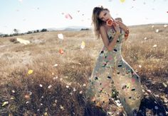 Lily Donaldson Monsoon Spring 2011 Campaign