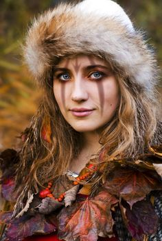 tribal make up scandinavia - Google Search