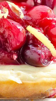 Cranberry Lemon Cheesecake Bars
