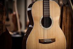 Model: 000; Soundboard: Bunya pine; Back/sides: Cooba;  Neck: Queensland maple; Fretboard: Gidgee; Mother of pearl