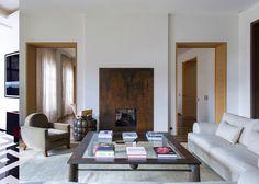 Living room designed by Pierre Yovanovitch