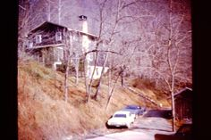 Mardi Cottage, FNS, Hyden, KY, on Old Hospital Hill, 1974-75, photo by Sherrie Rice Smith