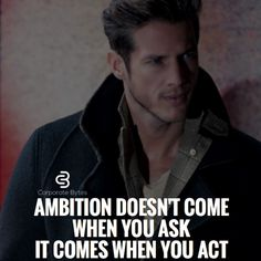 Ambition that's the word Mindset Quotes, Leadership Quotes, Success Quotes, Motivational Thoughts, Motivational Quotes, Inspirational Quotes, Business Inspiration, Motivation Inspiration, Boss Quotes