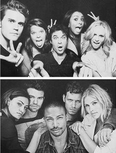 Top: The Vampire Diaries Bottom: The Originals