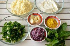 Sos Ranch pentru carne si legume - Retete culinare by Teo's Kitchen Nachos, Ketchup, Palak Paneer, Carne, Dips, Cabbage, Spices, Tasty, Chicken