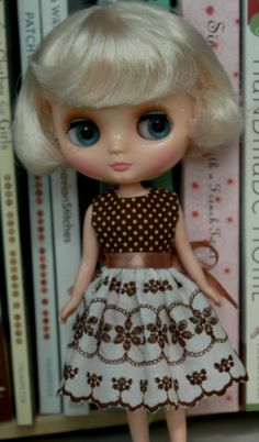 Middie Blythe dress. Lace skirt by GirlsWearBlueToo on Etsy, $17.00