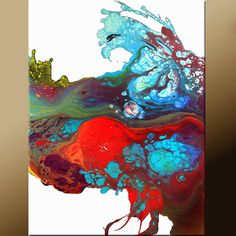 NEW 8x10 Size Prints available - FILLED WITH JOY Abstract Fine Art Print Contemporary Modern by wostudios, $15.00