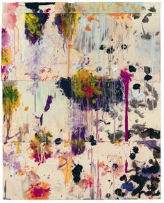 Cy Twombly. Untitled, 2001. ...abstract floralish