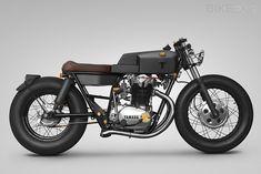 Yamaha XS650 custom motorcycle