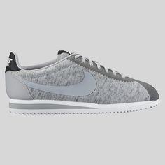 Nike Wmns Classic Cortez '15 TP Tech Pack Tumbled Grey Black White. Nike  ShowsClassic CortezCheap Nike Running ShoesTech ...