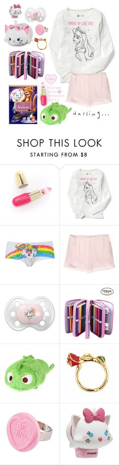 """""""Movie Night """" by be-robinson ❤ liked on Polyvore featuring Winky Lux, Disney, Topshop, Vanessa Bruno, little, mommy, daddy, ddlg and littlespace"""
