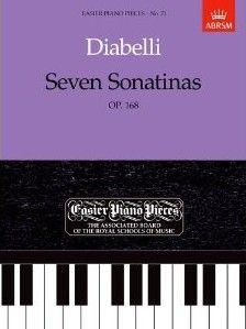 Grade 4 - Easier Piano Pieces No. 73 - Diabelli: Seven Sonatinas, Op. 168. £7.50