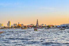 Thailand Temple, Chao Pra Ya river