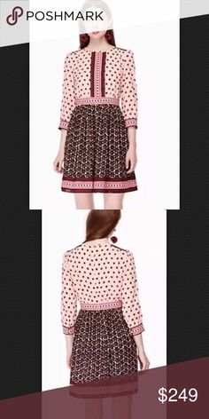 kate spade new york mocked tile dress Size 4 NWT kate spade new york mocked tile dress Size 4 NWT kate spade Dresses
