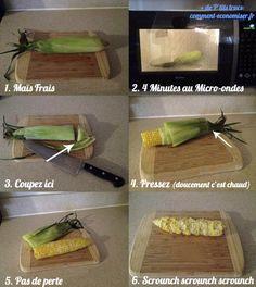 L'Astuce Pour Cuisiner un Épi de Maïs en 5 Min Chrono.