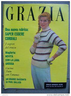 GRAZIA rivista di moda italiana 5/11/1958