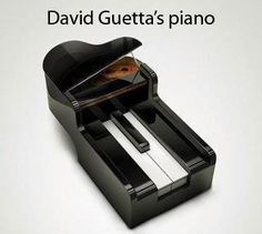 Le piano de David Guetta