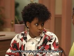 The Cosby Show was such good family fun. I like vanessa's hairstyles.  i liked all the cast they had their own uniqueness.