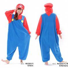 Super Mario Kigurumi Onesie (Adult Size)