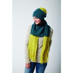 Free Easy Women's Beanie and Scarf Set Crochet Pattern