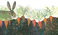 A Brian Wildsmith illustration from The Hare and the Tortoise, 1971.