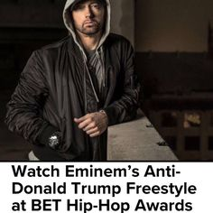 If you with Trump you're not a fan. This is a Hip Hop moment. I love Hip Hop! Thank you