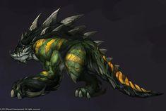 http://samwisedidier.deviantart.com/art/StarCraft-New-Primal-Zergling-Concept-450387002