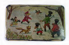 Boîte en tôle Pierre et le Loup Disney Lithographed Tin Box Peter and the Wolf | eBay