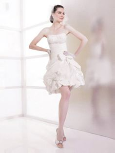Finden Sie brauchen in Dreamflying.de! Dies ist, wo Sie einen kurze Brautkleider, Brautkleider kurz -standesamt- knielange