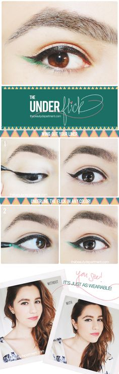 Underline your wing for Spring!