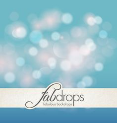 Paradise Bokeh Photography Backdrop For Portraits by FabDrops