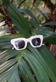 KAIBOSH | CITY SURVIVOR in MOTHER OF PEARL |  New York, London, Paris, Milan - these chunky shades will navigate you through the fashion capitals. A feminine frame with a sharp edge. You will love it! Clear Crystal, Cat Eye Sunglasses, Milan, Art Pieces, Feminine, Shades, York, London, Pearls