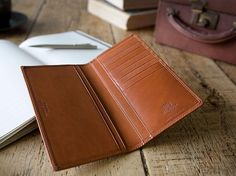 Proud to be handmade in England. Long Wallet, Fashion Advice, Wallets, England, Style Inspiration, How To Make, Leather, Handmade, Travel